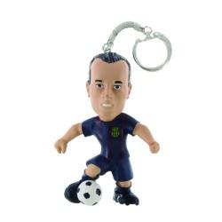 Comansi FC Barcelona - Andrés Iniesta futbalista kľúčenka