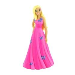 Comansi Barbie Fashion - Barbie v ružových šatách rozprávková figúrka