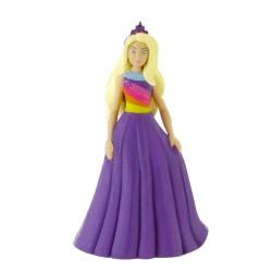 Comansi Barbie Fashion - Barbie vo fialových šatách rozprávková figúrka