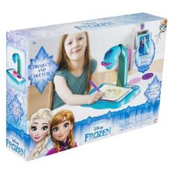 SAMBRO Projektor na kreslenie so zošitom - Frozen Ľadové kráľovstvo