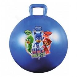 Detská lopta na skákanie PJ Masks Pyžamasky - 45 cm