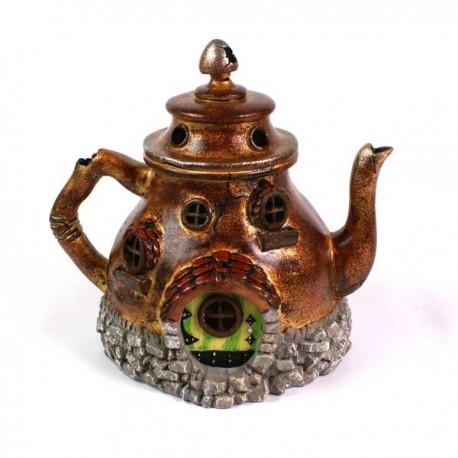 Domček pre miniatúrne záhradky - Čajník