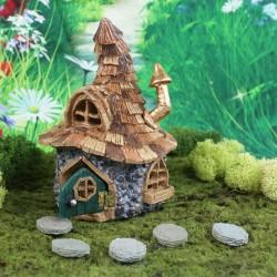 Domček pre miniatúrne záhradky - Chalúpka pre trpaslíkov