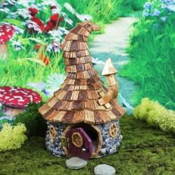 Domček pre miniatúrne záhradky - Chalúpka pre čarodejníkov