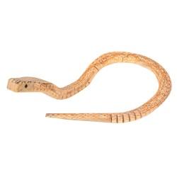 IMP-EX Drevená Kobra žltá