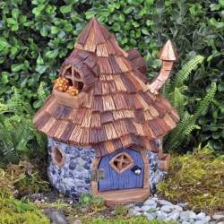 Domček pre miniatúrne záhradky - domček s kužeľovou strechou