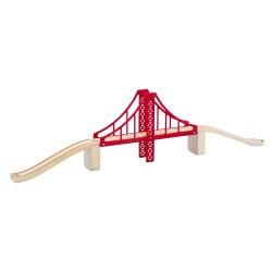 Mentari Drevený most s piliérom