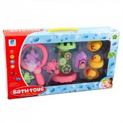 MK Toys sada hračiek do vane 9-dielna