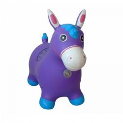 Hopsadlo pre deti - Poník fialový so zvukmi