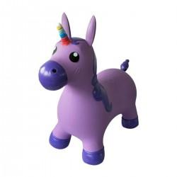 Hopsadlo pre deti - Jednorožec fialový