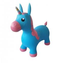Hopsadlo pre deti - Jednorožec modrý