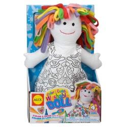 ALEX bábika na vyfarbenie