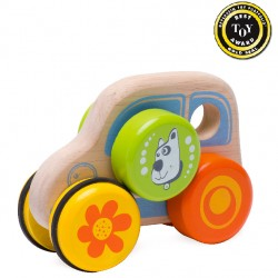 Wonderworld Drevená hračka na kolieskach - auto