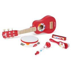 JANOD detský drevený set hudobných nástrojov Music Live