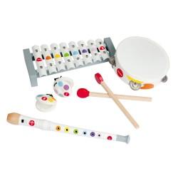 JANOD detský drevený set hudobných nástrojov Musical