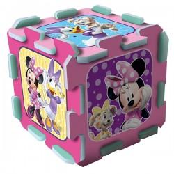 TREFL Penové puzzle na zem - Minnie Mouse 8ks