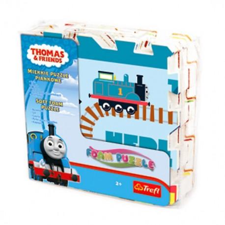 TREFL Penové puzzle pre deti - Thomas a jeho kamaráti