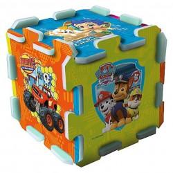 TREFL Penové puzzle na zem - Nickelodeon rozprávky 8ks