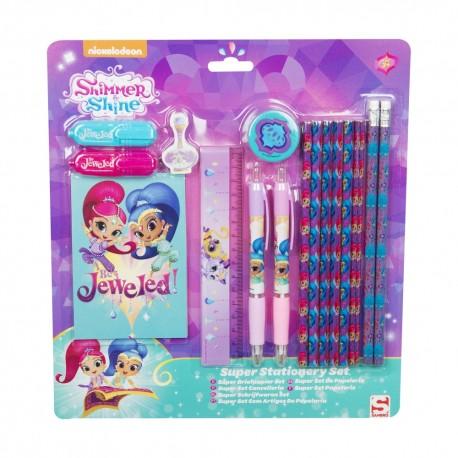 SAMBRO sada písacích potrieb pre deti Shimmer & Shine