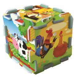 TREFL Penové puzzle na zem - Farma 8ks
