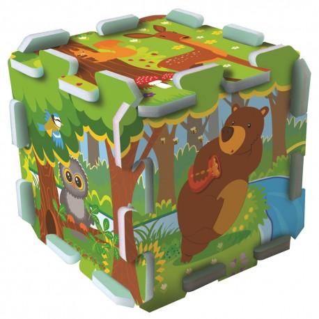 TREFL Penové puzzle pre deti - Les