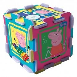 TREFL Penové puzzle na zem - Peppa Pig prasiatko 8ks