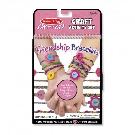 Náramky priateľstva - kreatívny set