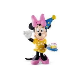 Bullyland Mickey Mouse Clubhouse - Minnie Mouse oslávenkyňa rozprávková figúrka