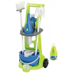 ÉCOIFFIER detský upratovací vozík Clean Home