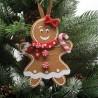 IMP-EX Ozdoba na vianočný stromček z filcu - medovník dievčatko