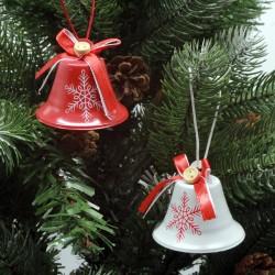 IMP-EX Vianočné ozdoby na zavesenie  - zvončeky 6 kusov