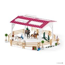 Schleich 42389 Jazdecká škola s jazdcami a koňmi
