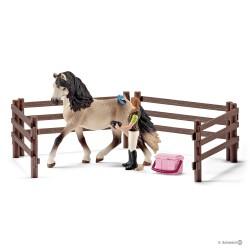 Schleich 42270 Set starostlivosť o koňa Andalúzskeho