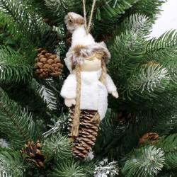 IMP-EX Vianočná ozdoba na zavesenie - dievčatko na šiške
