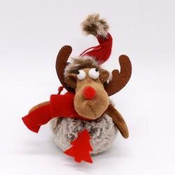 IMP-EX Vianočná ozdoba na zavesenie - sobík červený