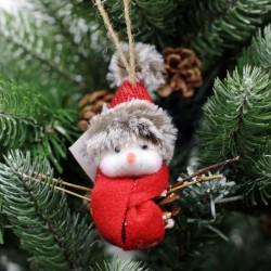 IMP-EX Vianočná ozdoba na zavesenie - snehuliak s čiapk