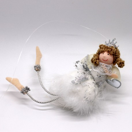 IMP-EX Vianočná ozdoba na zavesenie - letiaci anjelik