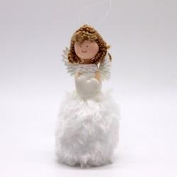 IMP-EX Vianočná ozdoba na zavesenie - anjelik so srdiečkom
