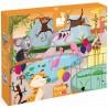 JANOD Detské dotykové puzzle Zvieratká v ZOO