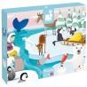 JANOD Detské dotykové puzzle Život na ľade