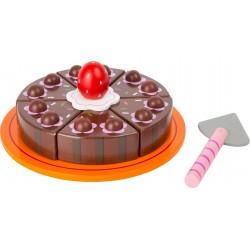 Legler Drevená čokoládová torta na krájanie