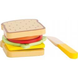 Legler Drevený sendvič na krájanie