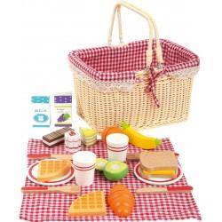 Legler piknikový košík s potravinami