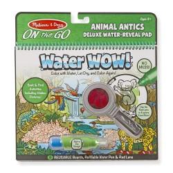 Melissa & Doug Magické pero Šantenie zvieratiek Water WOW! Deluxe