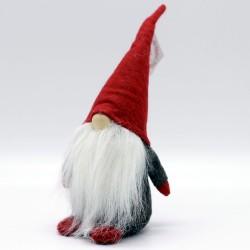 IMP-EX Vianočná dekorácia - škriatok s čiapkou 26 cm-ový