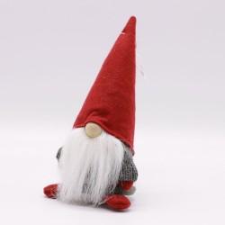 IMP-EX Vianočná dekorácia - škriatok s čiapkou 18 cm-ový