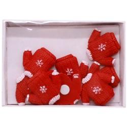 IMP-EX Vianočné dekorácie - pulóvriky 8 kusov