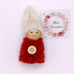 IMP-EX Vianočná ozdoba na zavesenie - chlapček v červenom pulóvriku