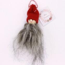 IMP-EX Vianočná ozdoba na zavesenie - chlapček v červenej čiapke