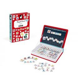 JANOD detská magnetická kniha Francúzska abeceda